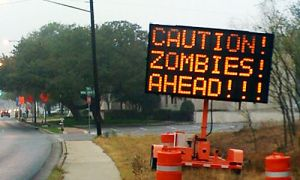 CORRECTION Zombies Ahead