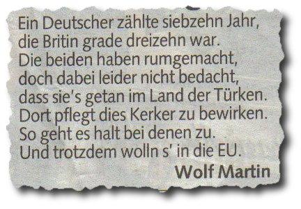 Die Hymne, die Krone und ein Wolf namens Martin (2/2)